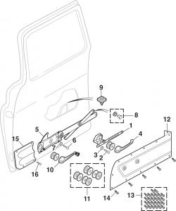 Door Regulator and Components