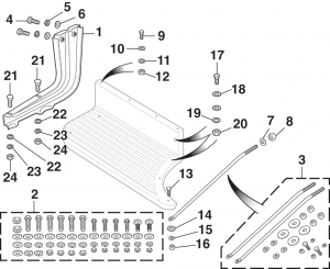 Stepside Step Attachment Hardware