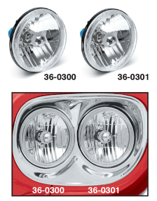 Custom Headlights - Dual