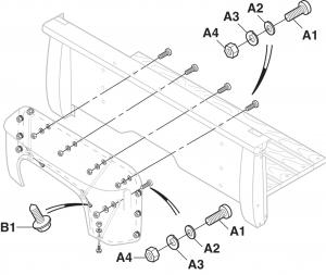 Stepside Rear Fender Attachment