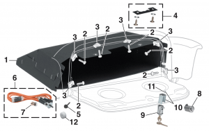 Glove Box and Parts