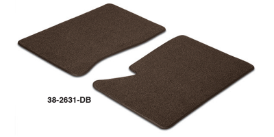 Dark Brown Floor Mat Set