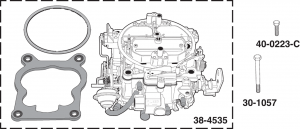 Stage 2 Quadrajet Carburetors