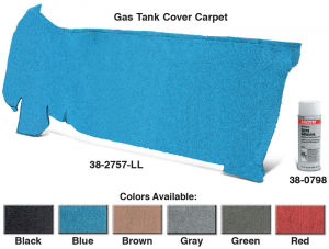 Gas Tank Cover Carpet