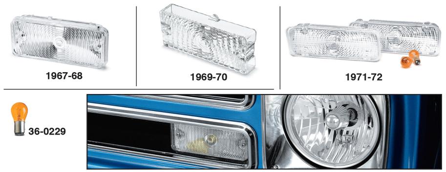 Chevy Custom Parklight Sets