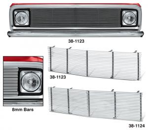 1971-72 Billet Aluminum Grille for Chevrolet