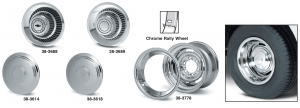 Chrome Rally Wheels ... Classic Style