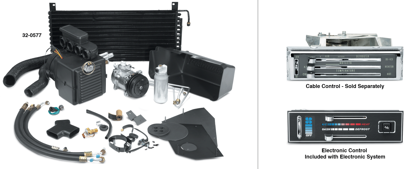 Air Conditioning Systems with Front Air Only