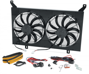 Dual Electric Fan Assembly