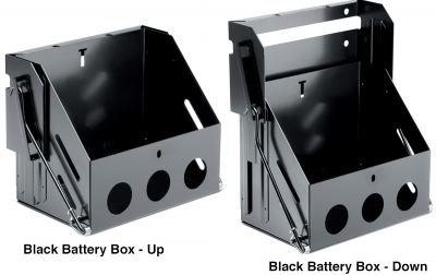 Drop Down Battery Box …  Clean Up That Engine Bay