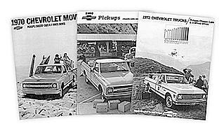 Chevy Sales Brochures