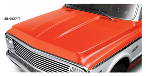 1969-72 Cowl Induction Steel Hood