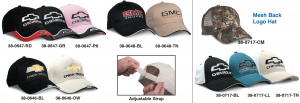 Embroidered Logo Hats