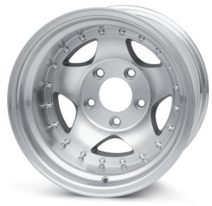 Aluminum 5 Spoke Wheel