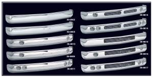 Custom Premium Chrome Front Bumpers