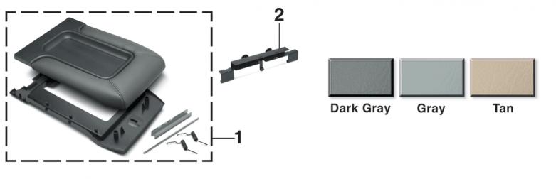 Console Lid Kit and Hinge Repair Kit