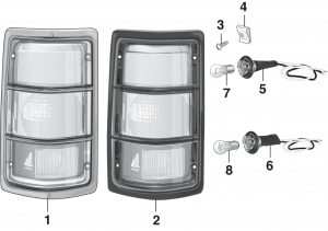 Tail Light - without Stepside
