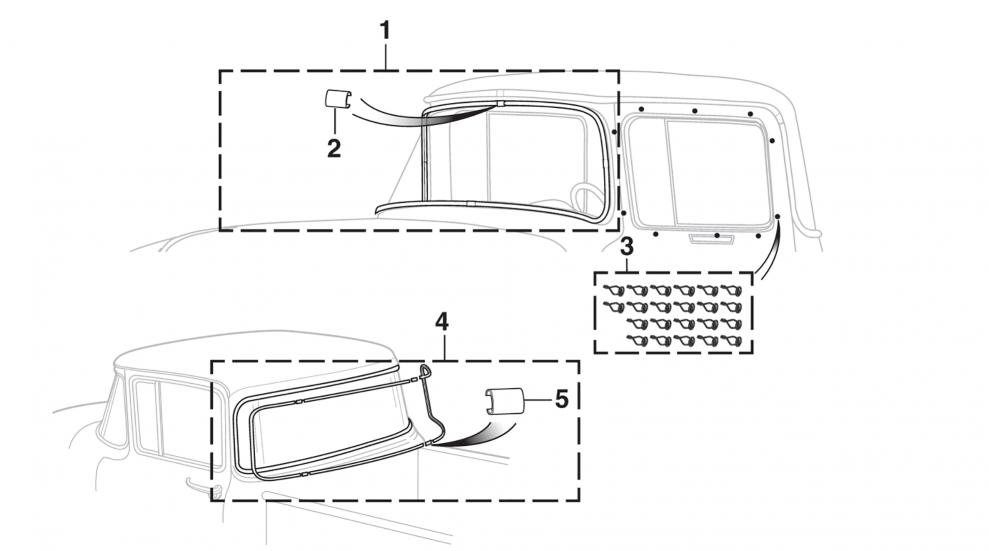 Custom Cab Trim Components