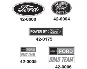 Ford Decals