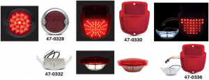 LED Tail Light and License Light