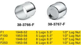 Chrome Center Caps and Lug Nuts