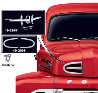 Hood Trim Molding and Components