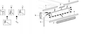 Styleside Tailgate Molding