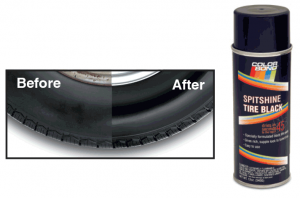 Spitshine Tire Black … Bring Back the Shine