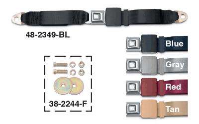 Lap Seat Belts and Mounting Hardware