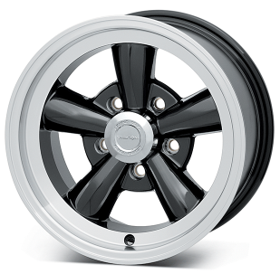 Vision Gloss Black 141 Legend 5 Wheel