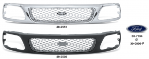 Diamond Mesh Grilles