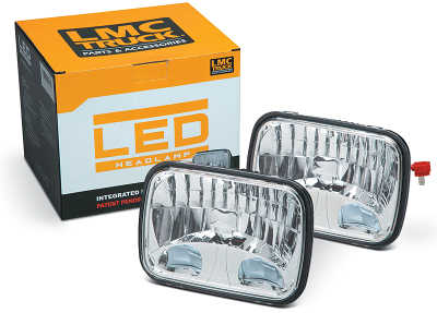 200MM LED Headlight Set