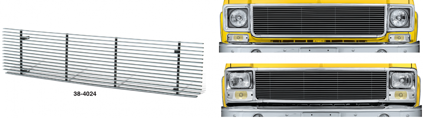 1973-80 Billet Aluminum Grille with 4MM Bars