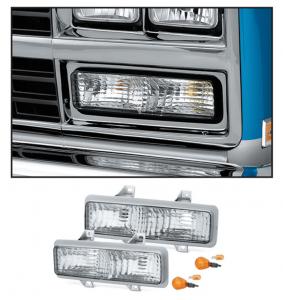 Custom Parklight Set 1989  Crew Cab Dual Headlight