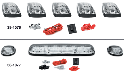 LED Cab Roof Light Kit