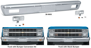 1983-91 Front Bumper Conversion … For a New Look