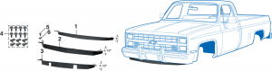 1981-89 Air Deflectors