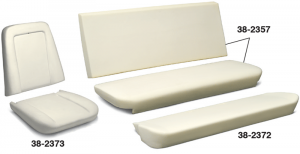1973-91 Replacement Seat Cushions