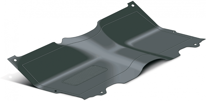 1973 87 Rubber Floor Mats One Piece Replacements For Oe Mats