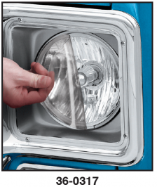 1973-91 Headlight Protection Film