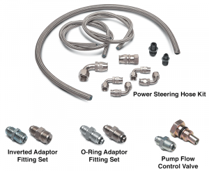 1973-87 Power Steering Hose Components