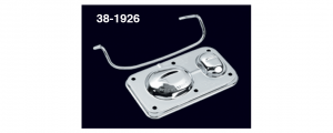 1973-89 Chrome Master Cylinder Cover