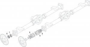1973-89 Rear Wheel Bearings