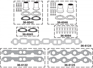 1973-89 Header Components
