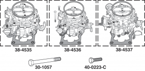1973-86 JET Stage 2 Quadrajet Carburetors