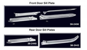 Crew Cab Door Sill Plate Sets