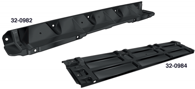 Upper Radiator Mounting Panels