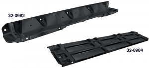 Upper Radiator Mounting Panels