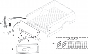 Fleetside Bed Front End Panel
