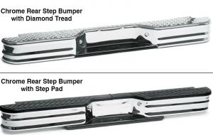 Chrome Rear Step Bumper